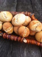 Brotbackwochenende: Dinkelsauerteig-Brötchen & Kleingebäck